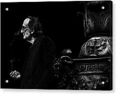 The Smoking Man Acrylic Print by Todd Fox
