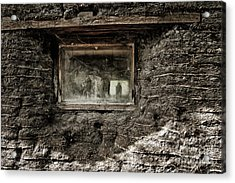 Acrylic Print featuring the photograph The Sod House by Brad Allen Fine Art