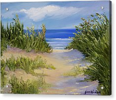 The Soft Winds Of Summer Acrylic Print by Jane Woodward