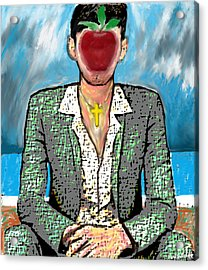 The Son Of Man Acrylic Print by Paul Sutcliffe