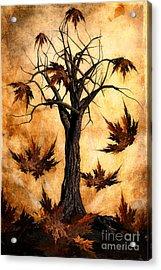 The Song Of Autumn Acrylic Print