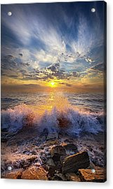 The Sound I Remember Acrylic Print by Phil Koch