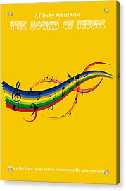 The Sound Of Music Minimalist Movie Poster  Acrylic Print by Celestial Images