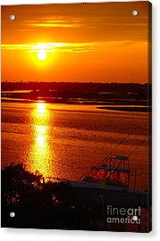 The Sound Of Sunset Acrylic Print