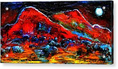 The Sound Of The Night Acrylic Print