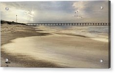 The Sounds Of The Beach Acrylic Print