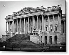 The South End In Black And White Acrylic Print by Greg Mimbs