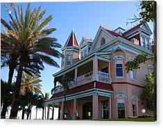 The Southernmost House In Key West Acrylic Print by Susanne Van Hulst