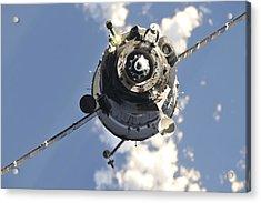 The Soyuz Tma-20 Spacecraft Acrylic Print by Stocktrek Images