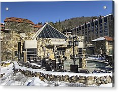 The Spa At The Omni Grove Park Inn Acrylic Print