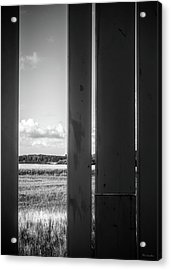 The Space In Between Acrylic Print by Wim Lanclus