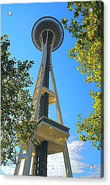 The Space Needle Acrylic Print by Todd Kreuter