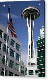 The Space Needle Too Acrylic Print by Todd Kreuter