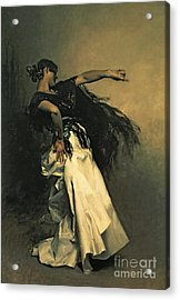 The Spanish Dancer Acrylic Print by John Singer Sargent