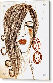The Spanish Woman.... Acrylic Print
