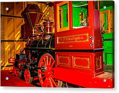 The Special C.p. Huntington Train Acrylic Print by Garry Gay