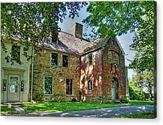 The Spencer-peirce-little House In Spring Acrylic Print