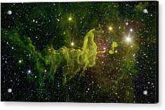 Acrylic Print featuring the photograph The Spider And The Fly Nebula by NASA JPL - Caltech