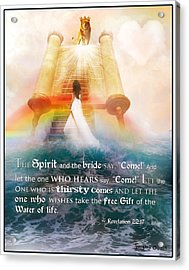 The Spirit And The Bride Acrylic Print