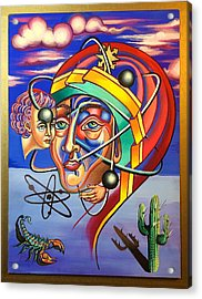 The Spirit Atom / Atom And Eve  Acrylic Print