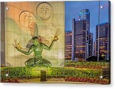 The Spirit Of Detroit  Acrylic Print