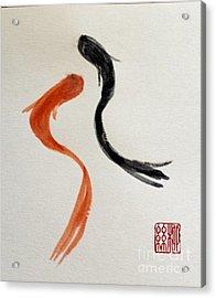 The Spirit Of Goldfish Acrylic Print