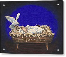 The Spirit Of Peace Acrylic Print