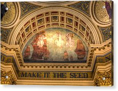 Acrylic Print featuring the photograph The Spirit Of Religious Liberty by Shelley Neff