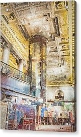 The Sprial Wine Cellar Acrylic Print by Marvin Spates