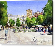 The Square In Summer Acrylic Print