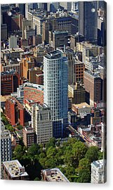 Acrylic Print featuring the photograph The St. James 200 W Washington Sq Philadelphia Pa 19106 3513 by Duncan Pearson