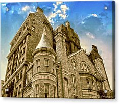Acrylic Print featuring the photograph The Stafford Hotel by Brian Wallace