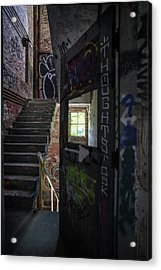 The Stairs Beyond The Door Acrylic Print