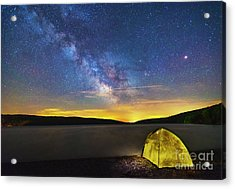 Stellar Camp Acrylic Print