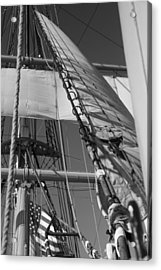 The Star Of India Mast Acrylic Print