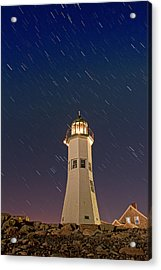 The Star Of Old Scituate Light Acrylic Print