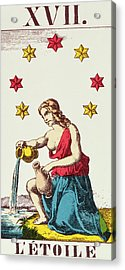 The Star  Tarot Card Acrylic Print