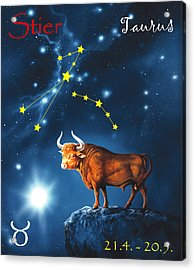 The Star Taurus Acrylic Print