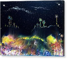 The Starfields Of Andromeda Acrylic Print by Lee Pantas