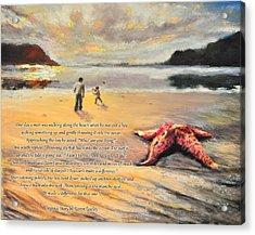 The Starfish Acrylic Print