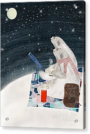 Acrylic Print featuring the painting The Stargazers by Bri B