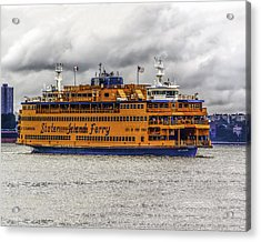 The Staten Island Ferry Acrylic Print