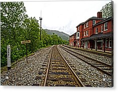 The Station Acrylic Print
