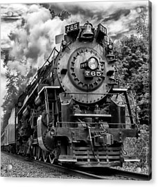 The Steam Age  Acrylic Print