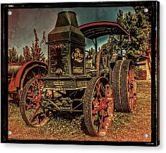 The Steam Tractor Acrylic Print