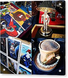 The Steampunk Industrial Show Was Acrylic Print