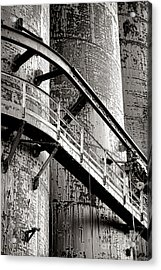 The Steel Citadel Acrylic Print by Olivier Le Queinec