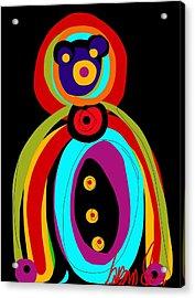 Mr. Teddy Bearitus Acrylic Print
