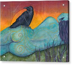 The Still Life With Crow Acrylic Print