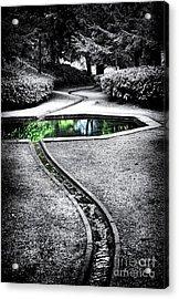 The Still Pool Acrylic Print by Tim Gainey
